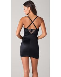 DKNY - Black Sweet and Sultry Shaping Chemise - Lyst