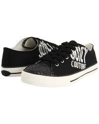 Juicy Couture - Briella - Black Logo Sneaker - Lyst