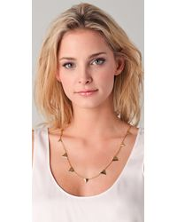 Elizabeth and James - Metallic Thorn Layering Necklace 24 - Lyst