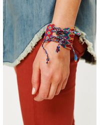 Free People - Multicolor Oversized Friendship Bracelet - Lyst