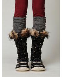 Free People - Black Joan Of Arctic Boot - Lyst
