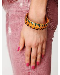 Free People | Multicolor Zuma Woven Bangles | Lyst