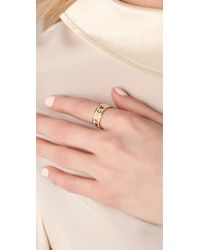 Marc By Marc Jacobs - Natural Dreamy Logo Band Ring - Lyst