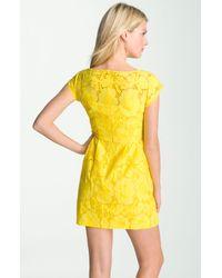 Nanette Lepore | Yellow Vamos Dress | Lyst