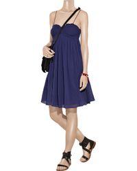 Étoile Isabel Marant   Blue Kelly Cotton-voile Dress   Lyst