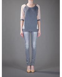 Pinko | Gray Renio Sweatshirt | Lyst