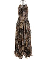 Elizabeth and James | Brown Garrison Animal-print Dress | Lyst
