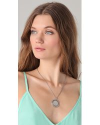 House of Harlow 1960 - Metallic Sunburst Pyramid Pendant Necklace - Lyst