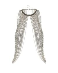 TOPSHOP | Metallic Maximums Body Chain Necklace | Lyst