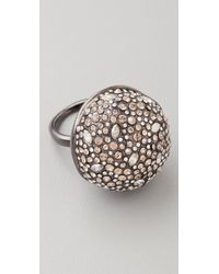 Alexis Bittar | Metallic Crystal Sphere Ring | Lyst