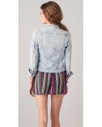 J Brand | Blue Slim Fit Denim Jacket | Lyst