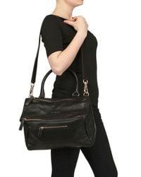 Givenchy | Black Medium Shiny Pandora Messenger | Lyst