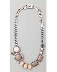 Rachel Leigh | Natural Brit Stone Layer Necklace | Lyst