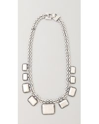 Rachel Leigh | Metallic Tallulah Metal Layer Necklace | Lyst