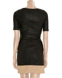 A.L.C. | Blue Sienna Stretchleather Dress | Lyst