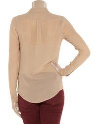Day Birger et Mikkelsen - Natural Day Starry Stripe Beaded Silk-georgette Shirt - Lyst