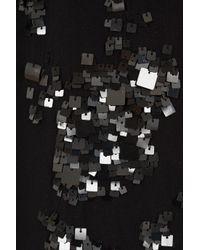 Elie Saab | Black Short Sequin Dress | Lyst