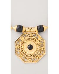 Theodora & Callum - Black Bodrum Necklace - Lyst