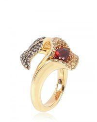 Shaun Leane | Metallic Salomè Lily Leaf Ring Ring | Lyst