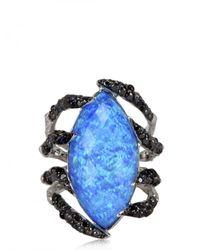 Stephen Webster - Spider Crab Black Opalescent Quartz Ring - Lyst
