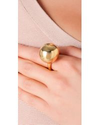 Alexis Bittar - Metallic Liquid Gold Sphere Ring - Lyst