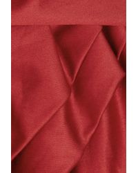 Vivienne Westwood Anglomania - Red Friday Cotton Satin Dress - Lyst