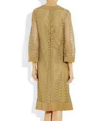 Giulietta - Yellow Clematis Lace Dress - Lyst