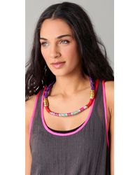 Holst + Lee - Purple Yigal Braided Belt Necklace - Lyst