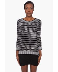 Surface To Air | Black Cotton Bivi Sweater | Lyst