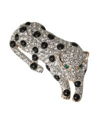 Carolee | Gray Style Icons Silver Panther Brooch | Lyst