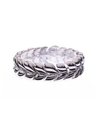 L.K.Bennett | Metallic Cable Knit Bracelet | Lyst