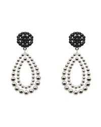 Mimco | Black Simple Glamour Earrings | Lyst