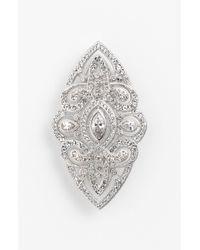 Nadri | Metallic Nouveau Pin | Lyst