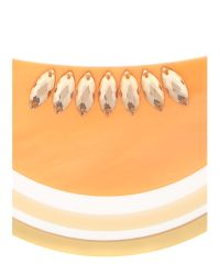 Tatty Devine | Orange Large Melon Cantaloupe Necklace | Lyst