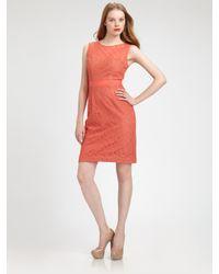 BCBGMAXAZRIA | Pink Lace Alice Dress | Lyst
