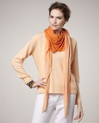 Eileen Fisher | Brown Ombre Scarf | Lyst