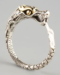 John Hardy - Metallic Slim Dragon Ring - Lyst