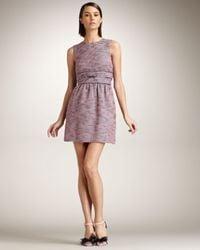 RED Valentino | Pink Tweed Dress | Lyst