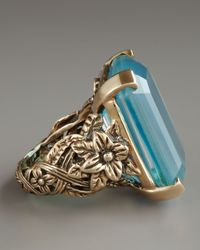 Stephen Dweck | Blue Agate Carvedband Ring | Lyst