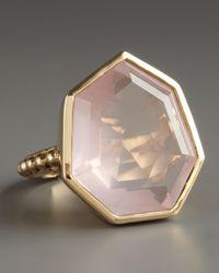 Stephen Dweck | Pink Faceted Rose Quartz Ring | Lyst