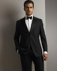 Armani | Black Classic Tuxedo for Men | Lyst