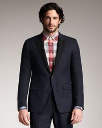 Rag & Bone | Blue Ellington Contrastlapel Linen Blazer for Men | Lyst