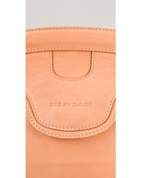 See By Chloé - Pink Celyn Large Cross Body Bag - Lyst