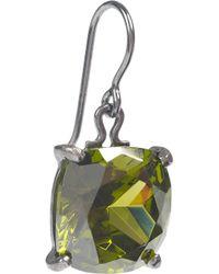 Bottega Veneta - Green Peridot Drop Earrings - Lyst