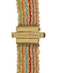 Carolina Bucci | Metallic Woven 18karat Gold Bracelet | Lyst