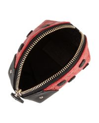 Gucci   Red Lady Bug Leather Coin Purse   Lyst