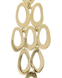Ippolita - Metallic Cascade 18-Karat Gold Earrings - Lyst