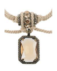 Lanvin - Natural Swarovski Crystal Rope Necklace - Lyst
