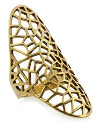 Zadig & Voltaire | Metallic By Gaia Repossi 18karat Goldplated Ring | Lyst
