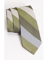 1901 | Green Woven Silk Tie for Men | Lyst